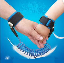 anti Lost Wrist Link 2 Pack 1.5M & 2.5M Safety Velcro Wrist Link for Toddlers, Babies & Kid anti Lost Wrist Link