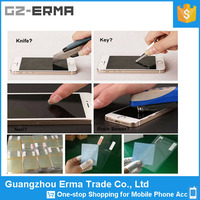 Made in China 0.33mm cell phone screen protector film tempered glass screen for iphone 5/5S