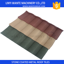 Hot sell galvanized stone coated steel shingle roof tile with CE UL ROHS
