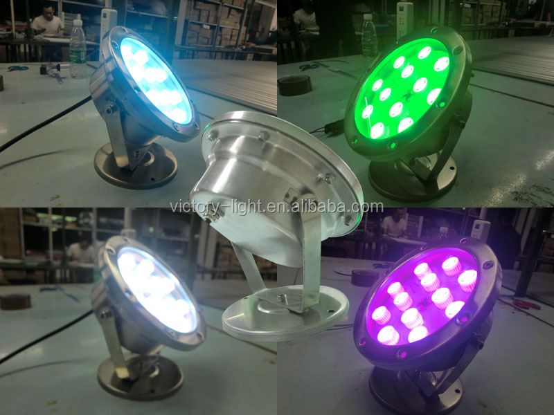 Rgb Led Underwater Swimming Pool Light Fountains Lamp