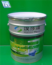18L oil paint for chemical/oil/adhesive/paint pail with lid and handle