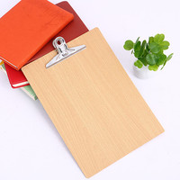 Manufacturer Wholesale fancy wooden clipboards wooden clipboard, writing board clip/