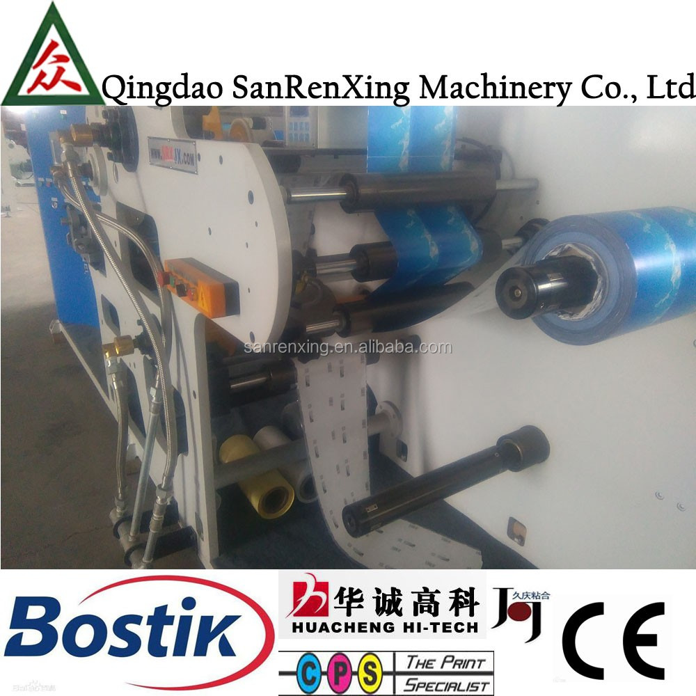 SR-A80 non scratch label paper wax coating machine