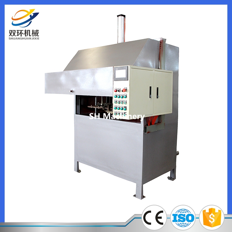 2017 new model high automatic degree egg tray making machine