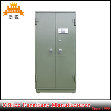 Military or police station use customized safe steel gun box with combination lock