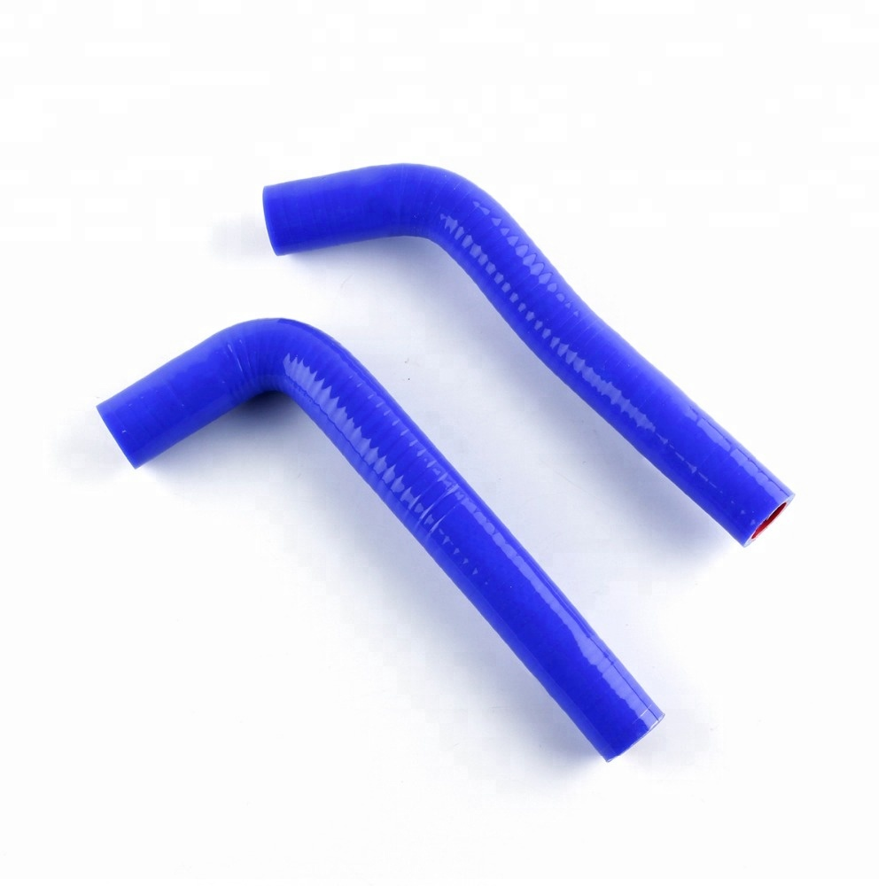 Blue for Yamaha YFZ450 04-08 Silicone Radiator Coolant Hose Kit