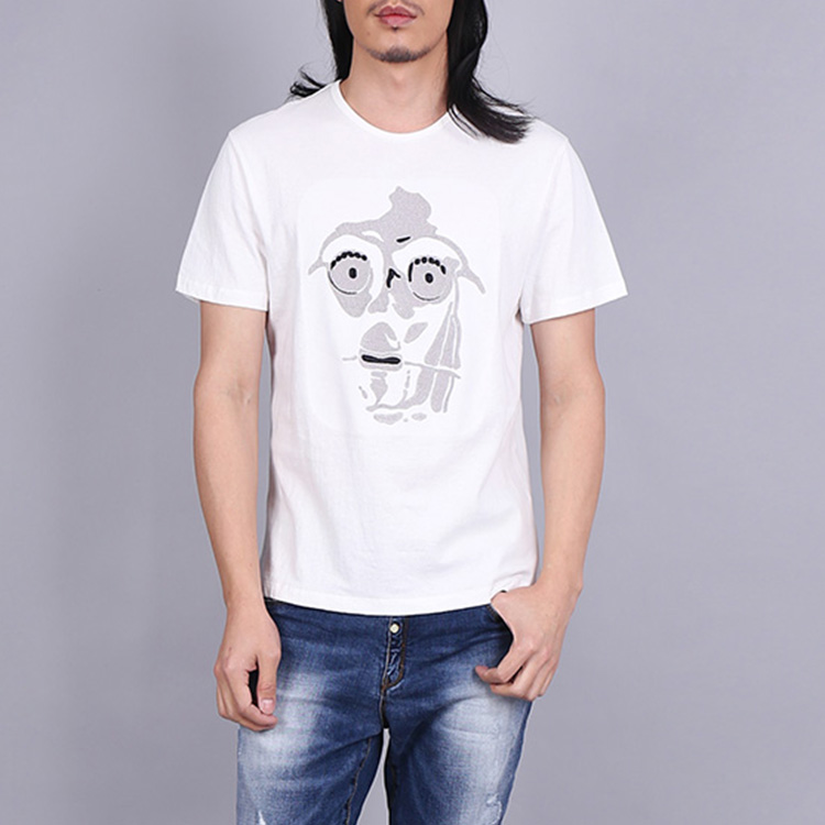 High quality 100%cotton men customized t shirt chinese garment factory