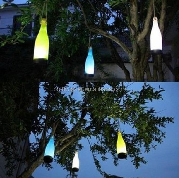 Christmas Led Solar Light Plastic Jar,Tr094,Solar Lawn Lamp