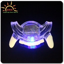 high quality funny led flashing fake teeth for halloween, novelty led teeth