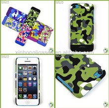 Plastic hard cover for iphone 5c cell phone case