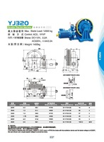 Cargo Lift Electric Elevator Traction Motor