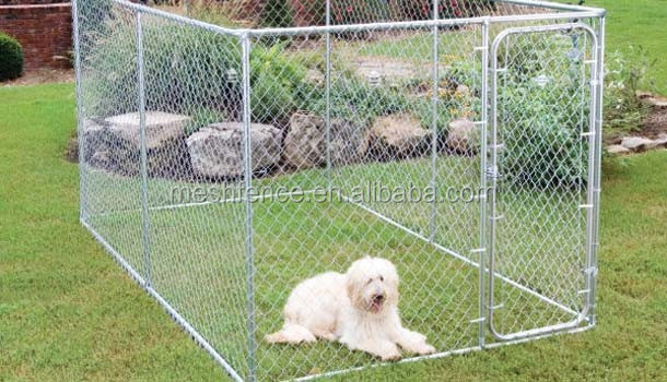 Economy Dog Kennel wholesale double door dog kennels heated dog kennel