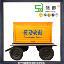 ISO2001 mobile generator station