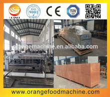 Bar shape cereals candy forming and cutting machine