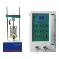 ASTM D2850 TSZ-1infinitively variable speed soil Triaxial Test machine kit 1T