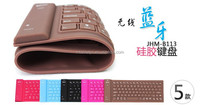 Factory original authentic wireless Bluetooth keyboard for iPad air luminous keyboard protector cover