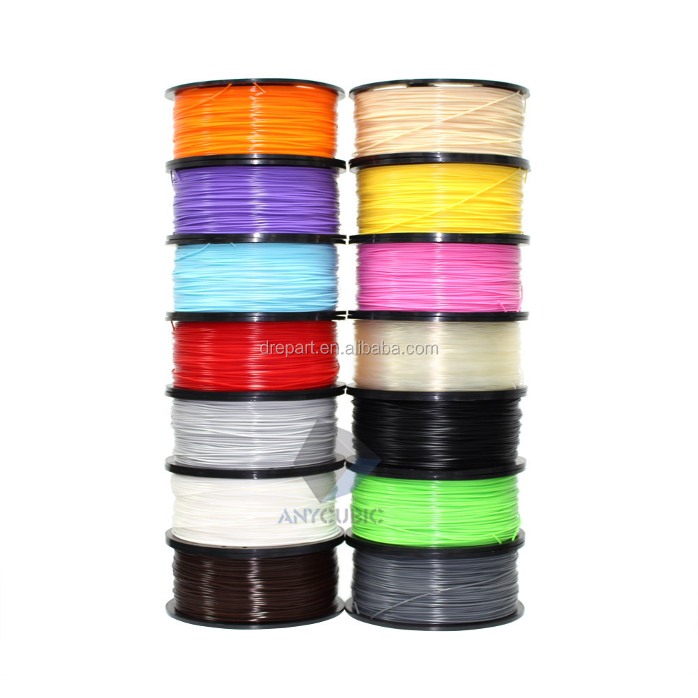 Wholesale colorful ABS plastic filament 1.75mm