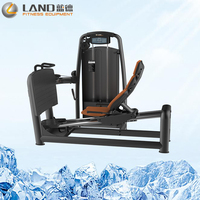 Land Fitness leg press 145kg stack weight gym machines pin loaded