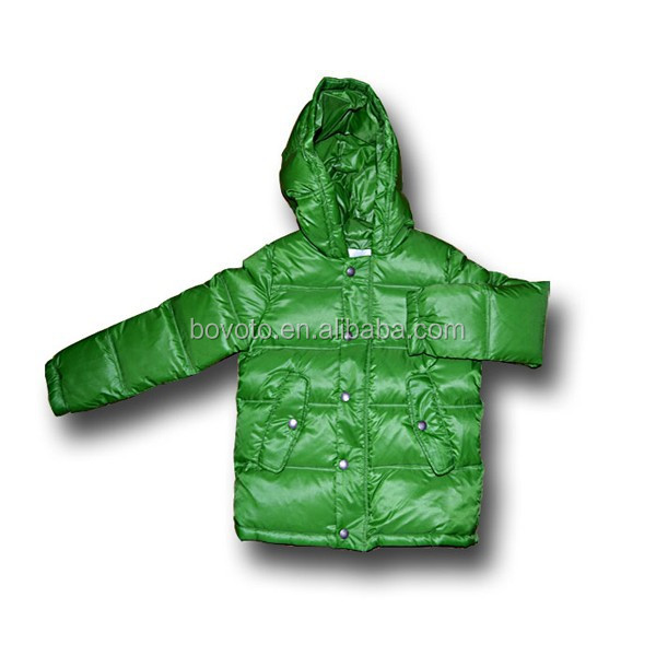 2014 newest design kids goose down jacket for the winter