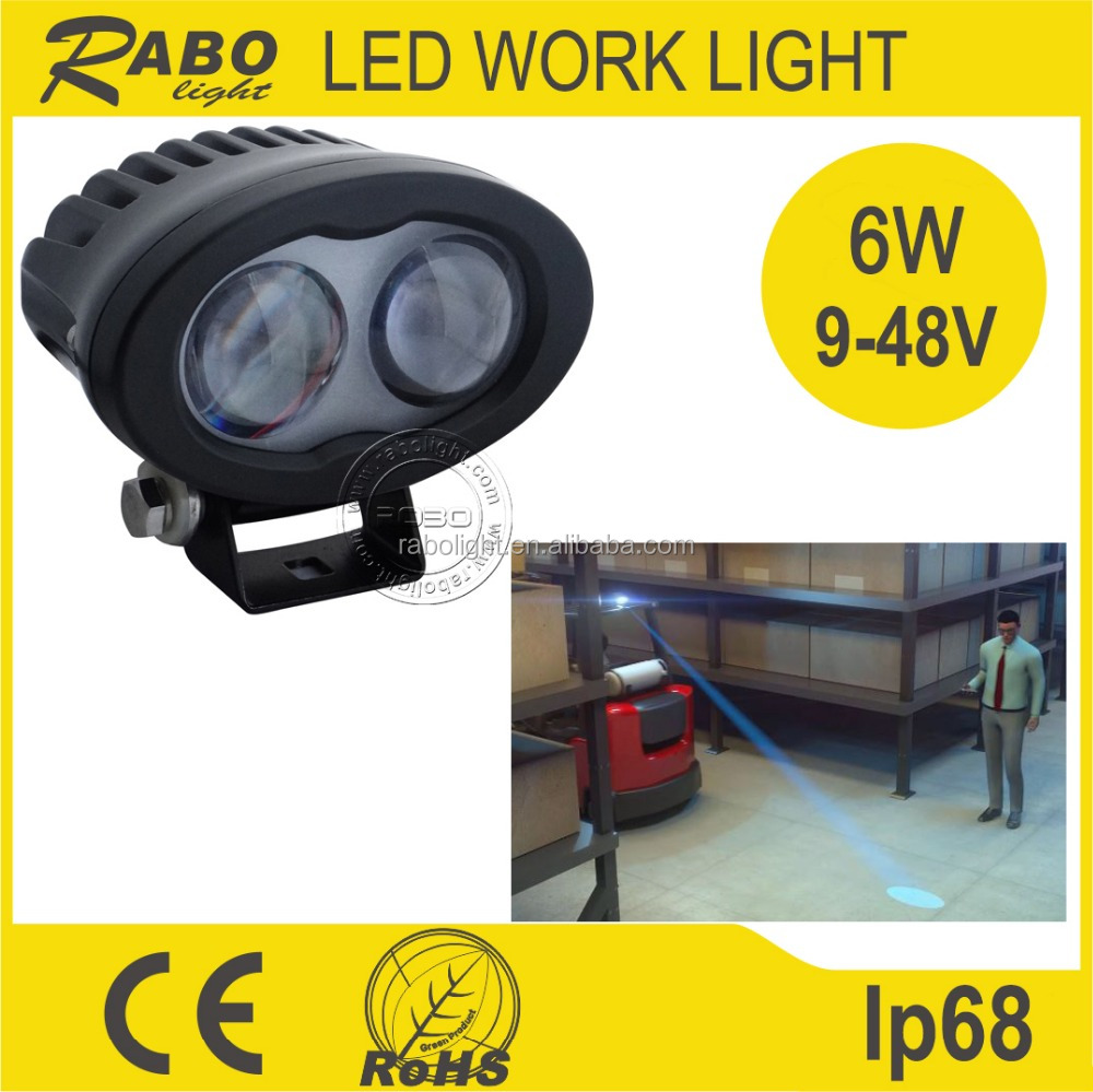 Tractor Safety Lights : W tractor led work light for forklift warning