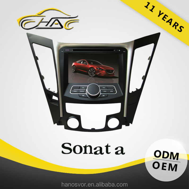 For Hyundai Sonata 2011 Car DVD Player Windows CE 6.0 GPS Navigation System