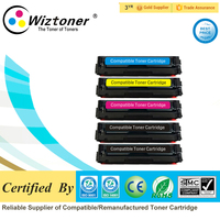 premium color toner cartridge 201A CF400A CF401A CF402A CF403A for HP Pro M252dw/M252n,MFP M277dw/M277n