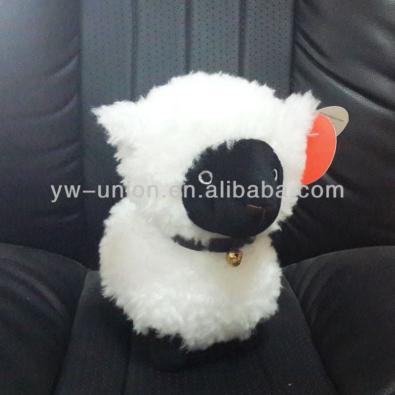 2015 Chinese Mascot New Year Stuffed Plush Black Sheep