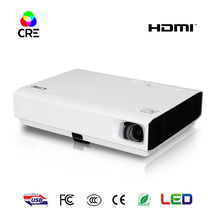 2017 New 3Led 3d dlp projector support android cell phone Blue-tooth HDMI 1080p