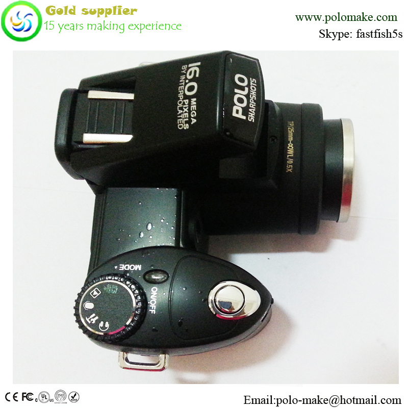 3inch 5mp cmos 16X digital zoom cheap slr digital camera with taking photo & video