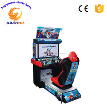32 inch kids coin operated mario kart arcade car racing game machine for sale