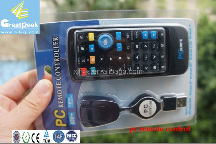 Pc remote controller with usb volume control