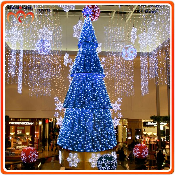 2016 New product tree lighted christmas fence decoration