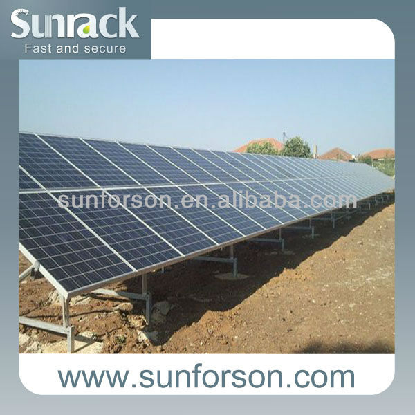 solar module support structure