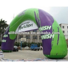 inflatable promotional archway with full digital printing / display arch