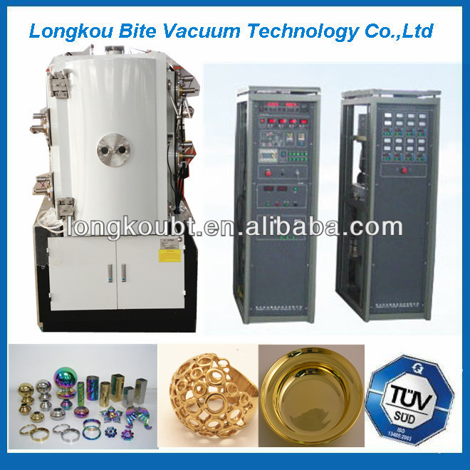 PVD titanium plasma coating/plasma color coating machine