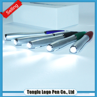 ball with eraser cheap ballpoint magnetic pen light
