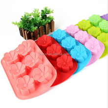 flower Shape Silicone Baking Cake Molds with Valid Standards
