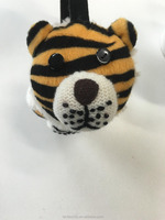Winter children safety ear muff funny kids ear muffs cute tiger animal pattern