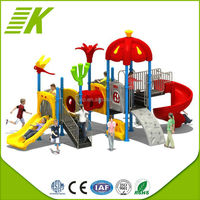 Playground Equipment For Older Kids/Childrens Plastic Playhouse/Plastic Residential Playground