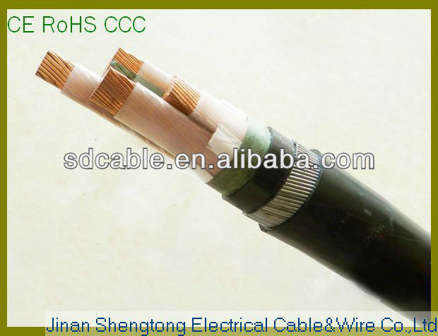steel wire armoured electrical cable