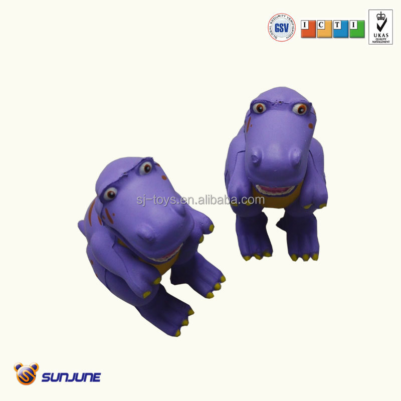 Kid pu animal toy, dinasour stress toy