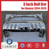 High Quality 3 Inch Stainless Steel 4x4 Bull Bar for Nissan Np300 Navara 2014