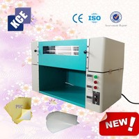 Factory outlet double Side Photo book Hot melt gluing machine with roller coater