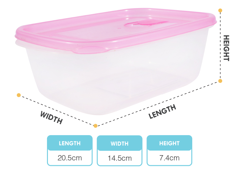 Low price fresh keeper kitchenware kids food container plastic with lid
