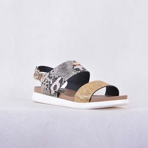68baef9eb83a 2018 new design Top Sell summer ladies flat sandals in china
