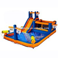 Air Blown Affordable Professional Inflatable Water Park For Party Kids Inflatable Water Park Water Slide Pool And Bouncer