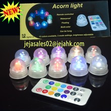 wedding favours for guests remote controlled led latern vase light