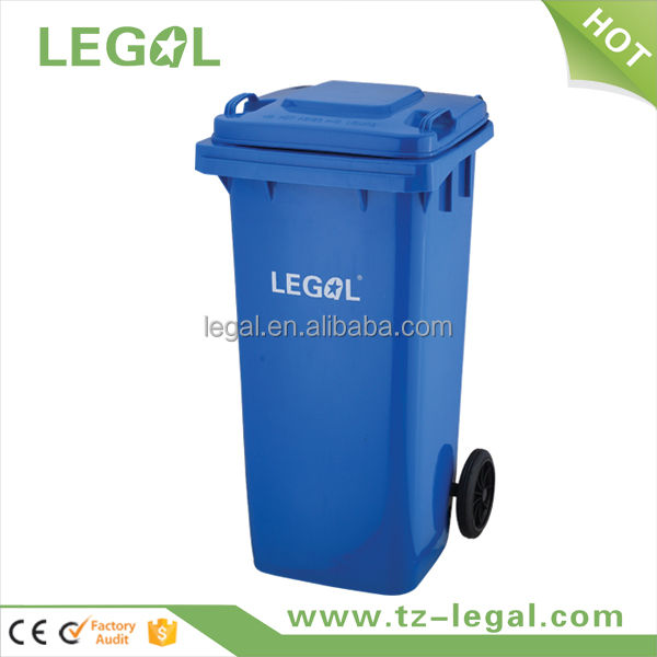 daily household items 100Liter colored plastic bin for recycle wholesale