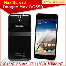 New doogee mtk6589t quad core 6 inch android mobile 650 doogee phone