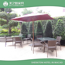 Sheraton Hotel rattan dining table set patio rooms to go outdoor furniture